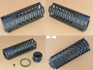 Slotted Gen 3 Free Float Quad Rail Handguard Forend- Carbine Length Hand Guard Best Discount Wholesale prices Austin Texas TX Rousch Sports