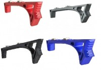 LINK Curved ForeGrip Strike Industries AR 15 M4 M16 Best Discount Wholesale AR Parts and Accessories Austin Texas USA Red Blue Black Grey Anodized Anodize all1