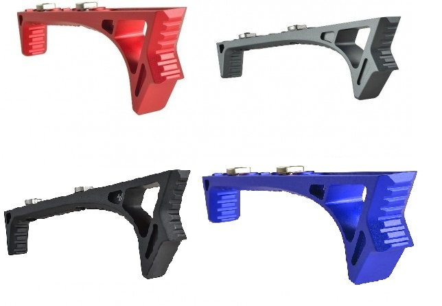 LINK Curved ForeGrip Strike Industries AR 15 M4 M16 Best Discount Wholesale AR Parts and Accessories Austin Texas USA Red Blue Black Grey Anodized Anodize