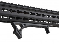 LINK Curved ForeGrip Strike Industries AR 15 M4 M16 Best Discount Wholesale AR Parts and Accessories Austin Texas USA Red Black Grey Anodized Anodize 4