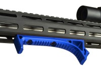 LINK Curved ForeGrip Strike Industries AR 15 M4 M16 Best Discount Wholesale AR Parts and Accessories Austin Texas USA Red Blue Black Grey Anodized Anodize all1 dsc_0028_blue
