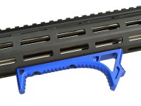 LINK Curved ForeGrip Strike Industries AR 15 M4 M16 Best Discount Wholesale AR Parts and Accessories Austin Texas USA Red Blue Black Grey Anodized Anodize all1 dsc_0032_blue