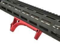 LINK Curved ForeGrip Strike Industries AR 15 M4 M16 Best Discount Wholesale AR Parts and Accessories Austin Texas USA Red Black Grey Anodized Anodize 15