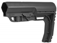 Mission First Tactical BMSMIL BATTLELINK Minimalist Milspec Stock .223 5.56  308 LR308 Ar 10 AR 15 M4 M16 Best Discount Wholesale AR Parts and Accessories Austin Texas USA bms-black-1