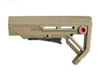 Viper MOD 1 Stock Mil Spec Black or Flat Dark Earth Strike Industries .223 5.56  AR 15 M4 M16 Best Discount Wholesale AR Parts and Accessories Austin Texas USA fde-red-dsc_0019