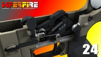 HiperFire HIPERTOUCH 24 Competition Version high precision fire control drop in Trigger .223 5.56  308 LR308 Ar 10 AR 15 M4 M16 Best Discount Wholesale AR Parts and Accessories Austin Texas USA htp-24-burst-3