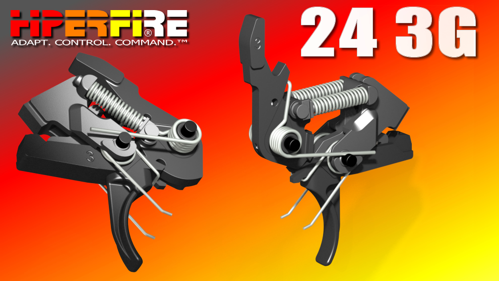 HiperFire HIPERTOUCH 24 3G Competition Version high precision fire control drop in Trigger .223 5.56 308 LR308 Ar 10 AR 15 M4 M16 Best Discount Wholesale AR Parts and Accessories Austin Texas USA