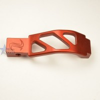 Timber Creek Outdoors Skeletonized Oversized Trigger Guard RED Anodized AR 15 M16 M4 Best Austin Discount AR Parts and accessories Austin Texas Build your custom AR today 9