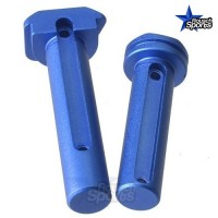 Strike Industries ULTRA LIGHT Enhanced Extended Take Down Front and Rear Pins BLUE .223 5.56 .308  AR 15 M4 M16 Best Discount Wholesale AR Parts and Accessories Austin Texas SI Ultra Light Pivot Takedown Pins BLUE 2