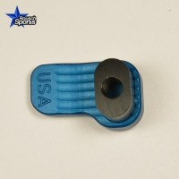Extended Magazine Release Oversized Large Tactical Mag Button BLUE .223 5.56 .308  AR 15 M4 M16 Best Discount Wholesale AR Parts and Accessories Austin Texas  Extended Magazine Release Oversized Large Tactical Mag Button BLUE .223 5.56 .308  AR 15 M4 M16 Best Discount Wholesale AR Parts and Accessories Austin Texas  Timber Creek Outdoors AR EXTENDED MAGAZINE RELEASE BLUE 6