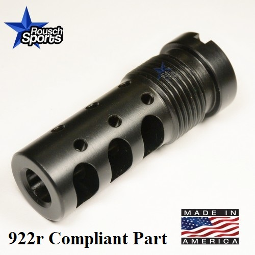 GRB V2 GAS REDIRECTING MULTIPURPOSE MUZZLE BRAKE AK 47 922r Compliant