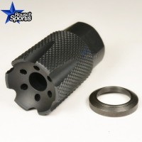 LCXS UL Low Concussion Linear Muzzle Brake Compensator Ultra LIght Compact Custom 1