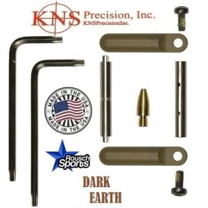 KNS Pins Anti Walk Pins Non Rotating Gen Northrop Side Plates Dark Earth .223 5.56 .308 AR 15 M4 M16 Best Discount Wholesale AR Parts and Accessories Austin Texas 1 .223 5.56 .308 AR 15 M4 M16 Best Discount Wholesale AR Parts and Accessories Austin Texas Stainless Steel