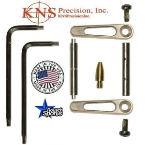 KNS Pins Anti-Walk Pins Non-Rotating Gen JJ SILVER Side Plates .223 5.56 .308 AR 15 M4 M16 Best Discount Wholesale AR Parts and Accessories Austin Texas 1 .223 5.56 .308 AR 15 M4 M16 Best Discount Wholesale AR Parts and Accessories Austin Texas Stainless Steel