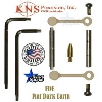 KNS Pins Anti Walk Pins Non Rotating Gen Northrop Mod 2 Side Plates FDE TAN .223 5.56 .308 AR 15 M4 M16 Best Discount Wholesale AR Parts and Accessories Austin Texas 1 .223 5.56 .308 AR 15 M4 M16 Best Discount Wholesale AR Parts and Accessories Austin Texas Stainless Steel KNS Anti Walk Pins Gen NRTHP MOD.2 Flat dark earth 1