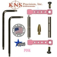 KNS Pins Anti Walk Pins Non Rotating Gen ST Spike's Side Plates PINK .223 5.56 .308 AR 15 M4 M16 Best Discount Wholesale AR Parts and Accessories Austin Texas 1 .223 5.56 .308 AR 15 M4 M16 Best Discount Wholesale AR Parts and Accessories Austin Texas Stainless Steel KNS Anti Walk Pins Gen ST PINK 1