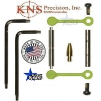 KNS Pins Anti Walk Pins Non Rotating Gen Northrop Mod 2 Side Plates Zombie Green .223 5.56 .308 AR 15 M4 M16 Best Discount Wholesale AR Parts and Accessories Austin Texas 1 .223 5.56 .308 AR 15 M4 M16 Best Discount Wholesale AR Parts and Accessories Austin Texas Stainless Steel KNS Anti walk Pin Kit Zombie Green 1a