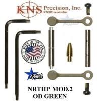 KNS Pins Anti Walk Pins Non Rotating Gen Northrop Mod 2 Side Plates OD Green KNS NRTHP M.2 OD Green 1